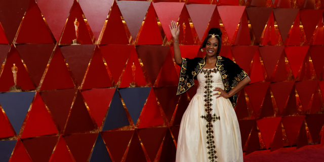 Tiffany Haddish rocked the Oscars red carpet in a traditional African gown.
