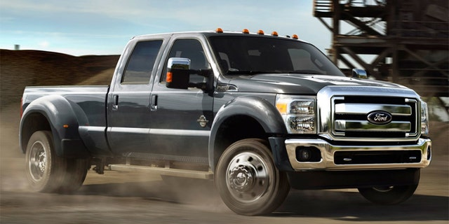 The F-Series Super Duty scored a super 5 out of 5 on J.D. Power's scale.