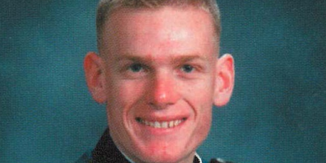 Jan. 28, 2013: This 2003 photo released by the U.S. Air Force Academy shows Capt. Lucas Gruenther. The U.S. Air Force has identified Gruenther as the pilot of an F-16 fighter jet that disappeared on a training mission over the Adriatic Sea.