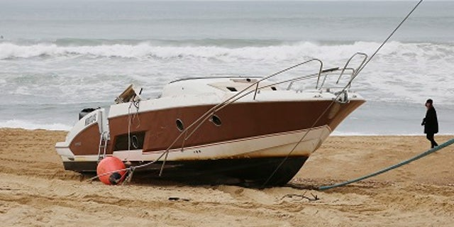 Pierre Agnes' boat was found washed ashore off the coast of France.