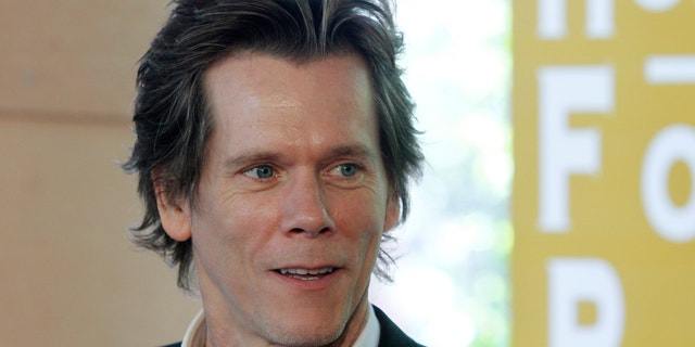 Kevin Bacon arrives for the Hollywood Foreign Press Association Annual Installation Luncheon in Beverly Hills.