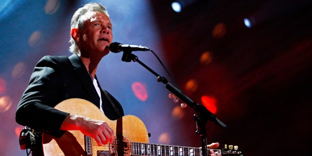 June 7, 2013: In this file photo, Randy Travis performs on day 2 of the 2013 CMA Music festival at the LP Field in Nashville, Tenn.