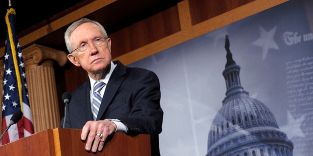 Former Senate Democratic Leader Harry Reid, seen here, penned a letter in August 2016 to former FBI Director James Comey requesting an investigation into potential collusion with Trump campaign associates and Russia.
