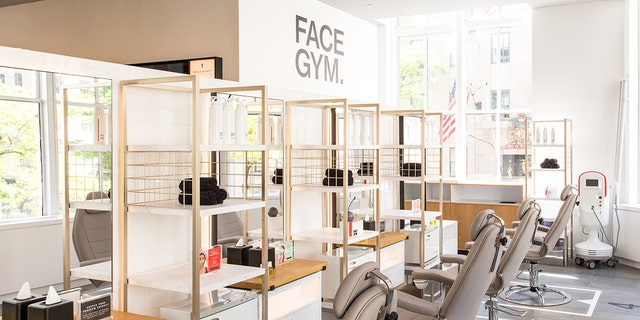 "Face Gym, a ""gym studio for the face,"" recently opened a location in New York City."