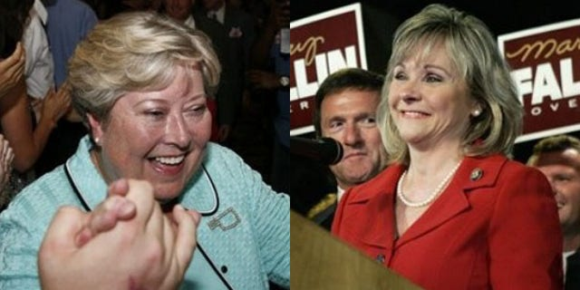 Democratic Lt. Gov. Jari Askins and Republican Rep. Mary Fallin will face off for the Oklahoma governor's seat. (AP)