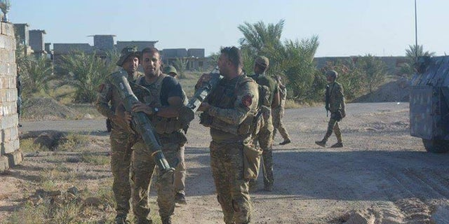 Iraqi forces are trying not to exacerbate a burgeoning humanitarian crisis.