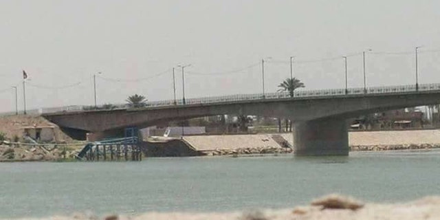 Key infrastructure, such as this bridge spanning the Euphrates, was spared in the five-week campaign.