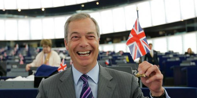 "UK Independence Party Leader Nigel Farage was one of the ""leave"" campaign's key leaders."