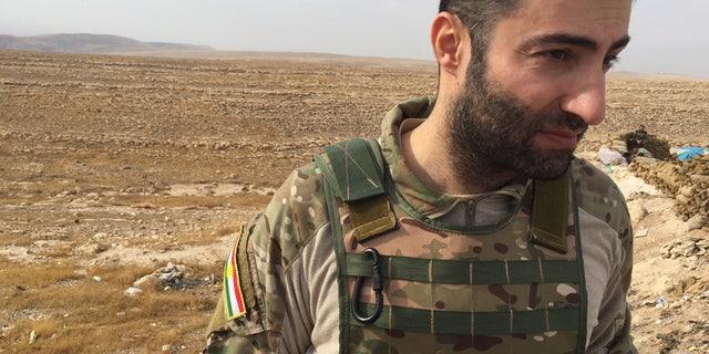 Peshmerga Operations Officer Farhang Afandi