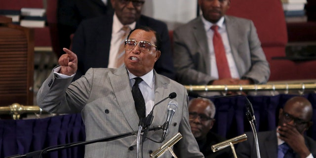 Louis Farrakhan of the Nation of Islam, in Washington in 2015.