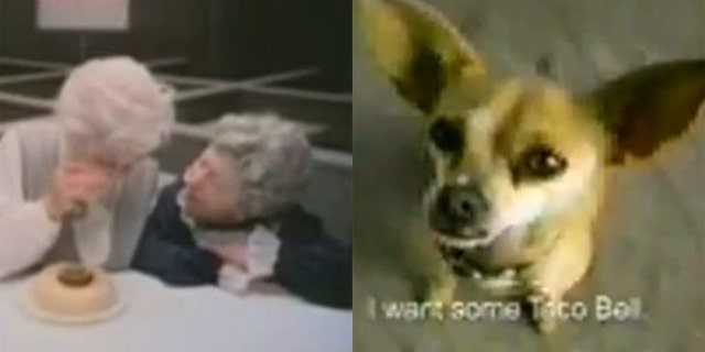 Remember these classic commercials for Wendy's and Taco Bell?