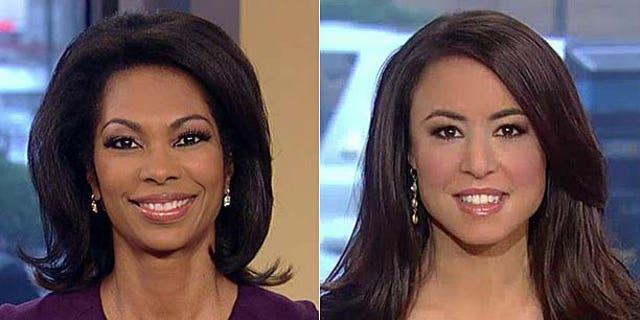 Fox News hosts Harris Faulkner and Andrea Tantaros (FNC)