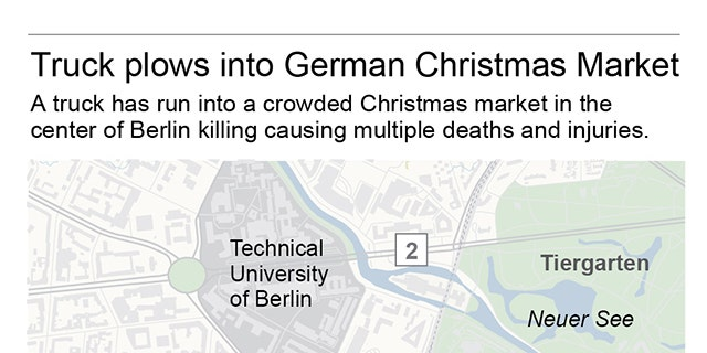 The Christmas market where the truck attack happened.
