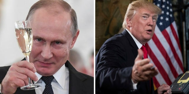 Russian President Vladimir Putin sent President Trump a holiday telegram.