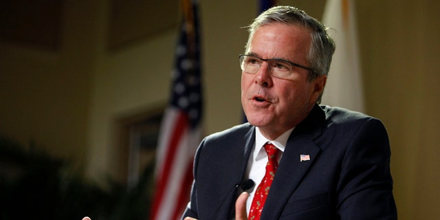 "Trump said his nickname for former Florida Gov. Jeb Bush, ""Low Energy Jeb,"" didn't have a backstory but just fit."