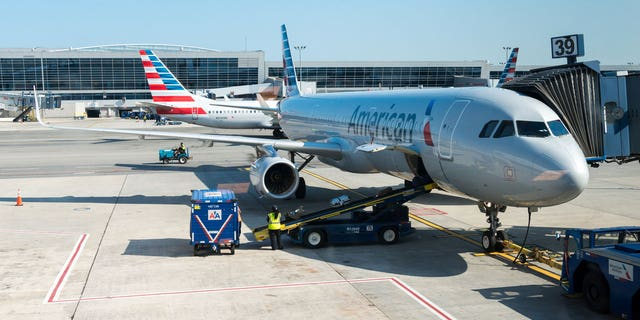 The American Airlines baggage handler claimed Richard had threatened to blow up the plane if he did not get his bag.