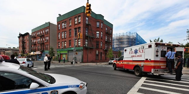 An award-winning FDNY paramedic was accused of groping a woman while driving to the hospital Sunday, April 8, 2018.