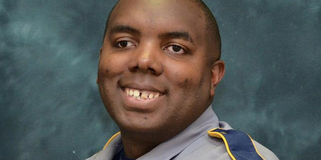 Montrell Jackson, 32, was one of three police officers killed in a shooting incident July 17.