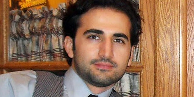 FILE - This undated file photo released by his family via FreeAmir.org shows Amir Hekmati who has been detained in Iran for two years as of Thursday, Aug. 29, 2013, on accusations of spying for the CIA. On Aug. 29, 2013, his mother released a letter that she sent him indicating that the wait was almost unbearable but that the change in the Iranian presidency and the Aug. 28, 2013, U.S. State Department request for Hekmati's release gave her and the family hope that they might see him again soon. (AP Photo/Hekmati family via FreeAmir.org, File)