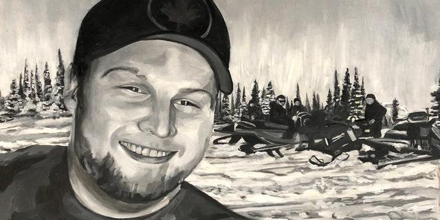 Jordan McIldoon of Maple Ridge, B.C., Canada by Amanda Roth of Redondo Beach, Calif., a survivor of the massacre.