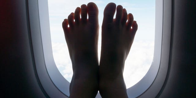 """positive news """"Why is there not an airline RULE: """"NO BARE FEET"""" like there is at restaurants?!?!"""" another person wrote."""