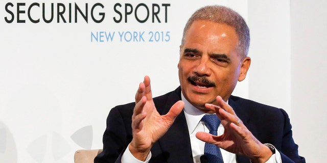 FILE: Former AG Eric Holder