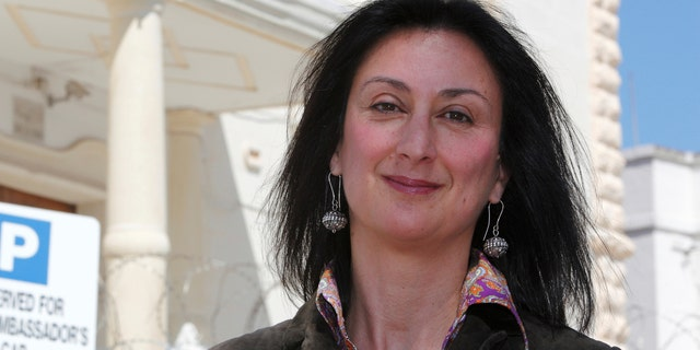 """The sons of Maltese investigative journalist Caruana Galizia want the country's prime minister to resign and blame a """"climate of impunity"""" on their mother's murder."""