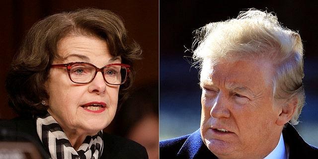 President Trump has a new nickname for Sen. Dianne Feinstein.