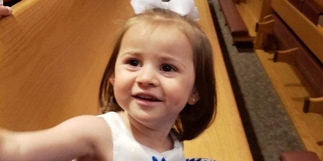 Felicity Karam, 2, died after being struck by an ice cream truck in Missouri.