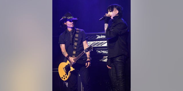 Johnny Depp and Marilyn Manson grew close after the actor appeared in two of the musician's music videos.