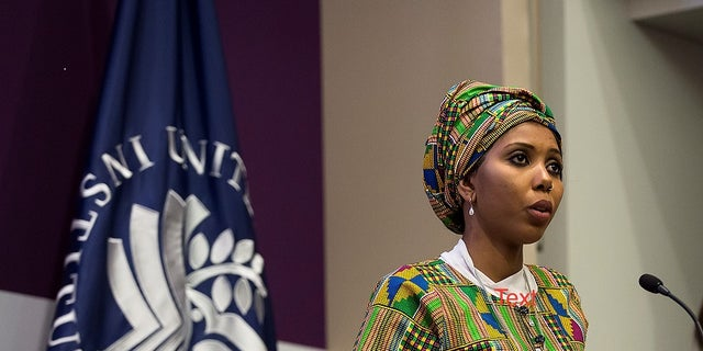 """Jaha Dukureh, FGM survivor, activist and founder of """"Safe Hands for Girls"""" campaigns for U.S lawmakers to do more to end the inhumane practice."""