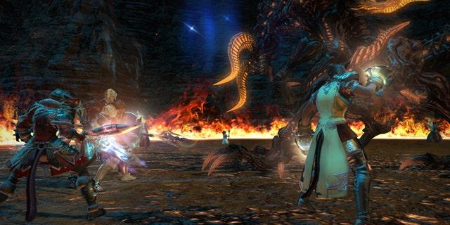 "FILE: A still image from ""Final Fantasy XIV: A Realm Reborn."""