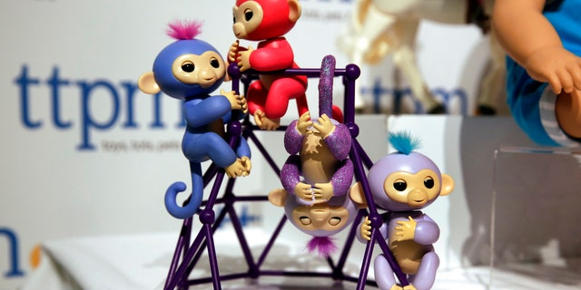 Fingerlings, small robotic monkeys, are one of the holiday season's hottest toys and already hard to find because cyber scalpers are scooping them up.