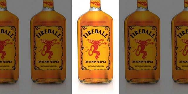 Fireball whiskey is being pulled for store shelves in Europe.