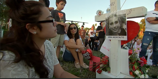 Friends and loved ones mourn the loss of 17 students killed in Parkland, Fla. on Feb. 14.