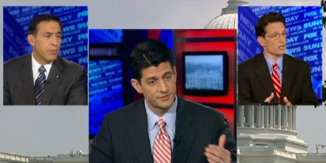 Republican leaders Reps. Darrell Issa, Paul Ryan and Eric Cantor are all looking for ways to reduce government spending.