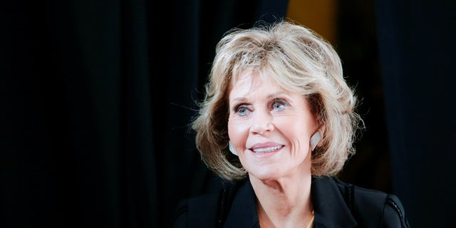Actress Jane Fonda donated $100,000 to a political group's effort to remove Rep. Darrell Issa from Congress in the 2018 midterm elections.