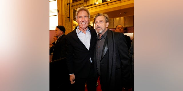 """Mark Hamill said Harrison Ford convinced him to reprise his role in the new """"Star Wars"""" films."""