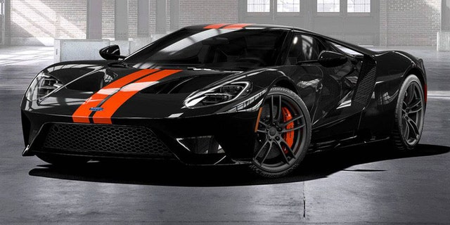 The Ford GT has 647 hp and a top speed of 216 mph.