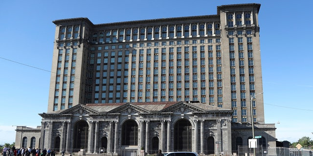 The Michigan Central Station ceased operations in 1988 and has been a symbol of the city's urban blight for decades.