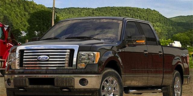 "Ford F-150 in ""Tuxedo Black"""