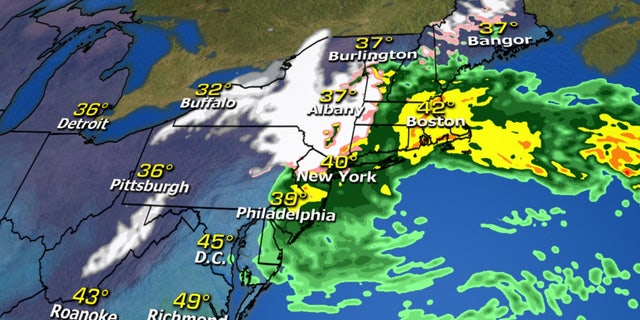 "A Nor""easter is expected to target the Northeast by Friday."