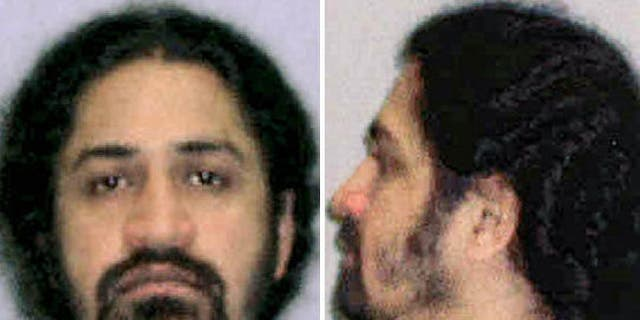 Pictured in this undated file photo, Iyman Faris, 49, was sentenced in 2003 for aiding and abetting al-Qaida by scoping out an iconic New York bridge as a part of a plot to cut through the cables that support the structure.