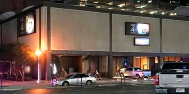 """Officials said that after Fry crashed into the building, he started """"ranting."""""""