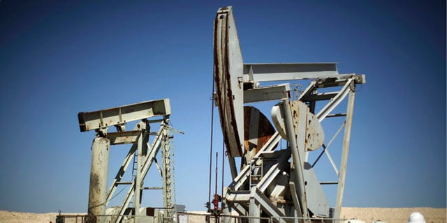 FILE: April 29, 2013: Pump jacks drill for oil in the Monterey Shale, Calif.