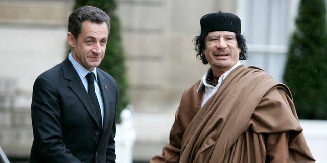Former French President Nicolas Sarkozy was placed in custody on Tuesday as part of an investigation involving illegal campaign funding from late Libyan leader late Libyan leader Moammar Gadhafi.