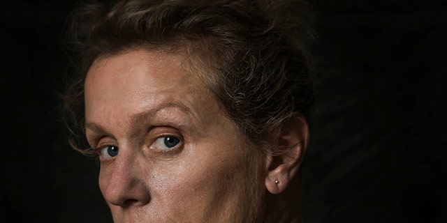 """This image released by Fox Searchlight shows Frances McDormand from the film """"Three Billboards Outside Ebbing, Missouri."""" On Monday, Dec. 11, 2017, McDormand was nominated for a Golden Globe for best actress in a motion picture drama for her role in the film."""