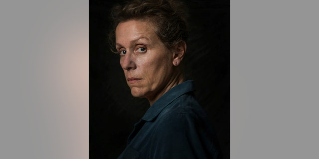 "This image released by Fox Searchlight shows Frances McDormand from the film ""Three Billboards Outside Ebbing, Missouri."" On Monday, Dec. 11, 2017, McDormand was nominated for a Golden Globe for best actress in a motion picture drama for her role in the film."