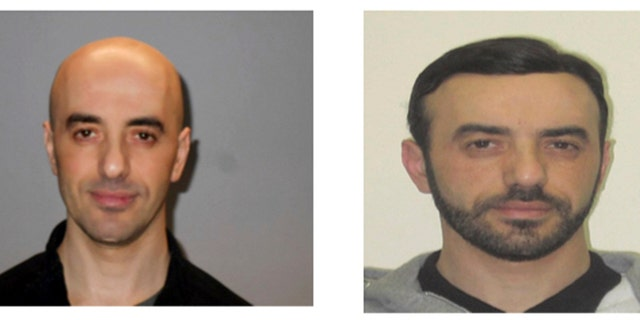 This two photos combo provided on Monday, July 2, 2010 by the AP on the condition that its source not be revealed shows portraits of notorious French criminal Redoine Faid who is wanted in connection with his escape from the Reau prison in France.