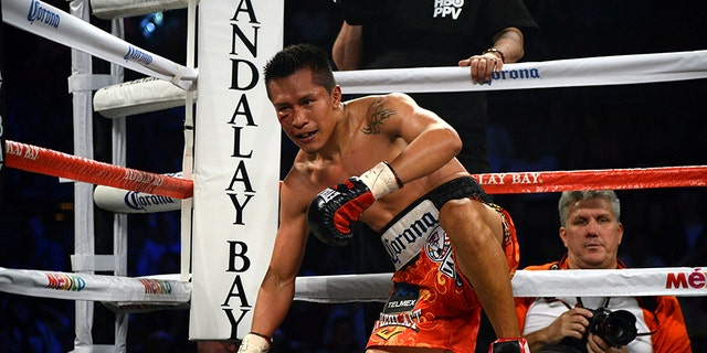 Francisco Vargas at a bout in 2015.